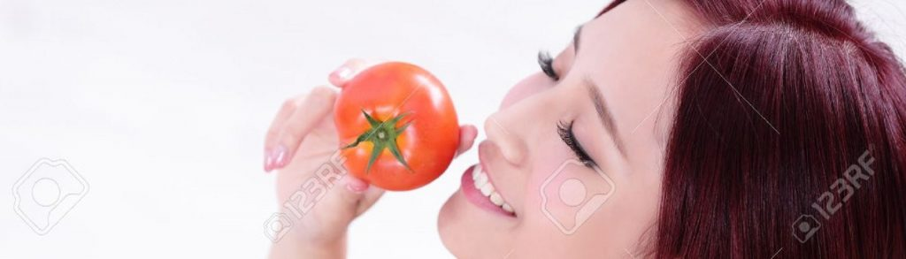 tomate para la piel