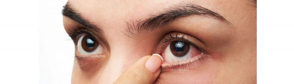 como sacar el aire del ojo